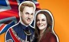 Игра одевалка Кейт и принца Уильяма и винкс конкурс