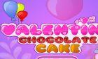 Игра оформи тортик в день святого Валентина и винкс поздравление!
